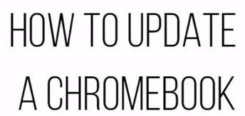 تحديث Chromebook