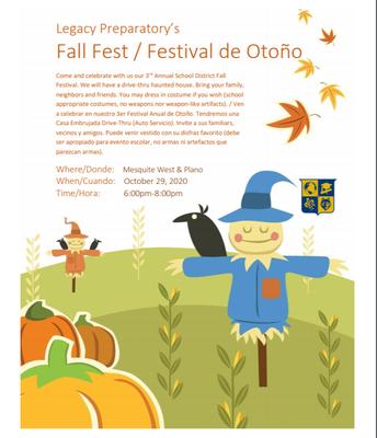 Fall fest/Festival de Otono
