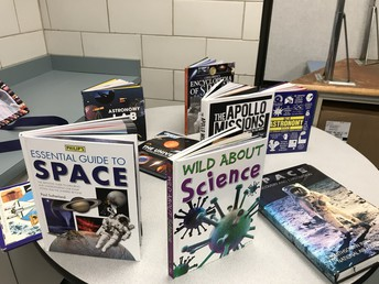 Non-Fiction Space books