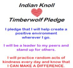Indian Knoll Mission and Pledge / Compromiso y misión de Indian Knoll