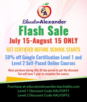 LAST CHANCE FOR FLASH SALE: GET GOOGLE CERTIFIED