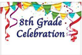 Cartel de celebración del octavo grado:
