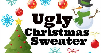 Ugly Christmas Sweater/Outfit Day