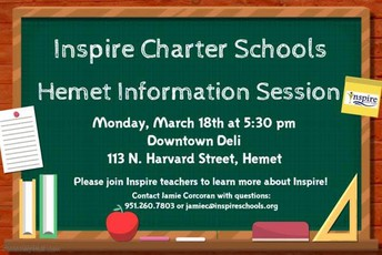 Hemet Info Session!