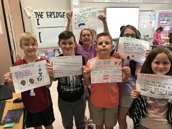 4th Grade Student Ownership Making Anchor Charts