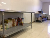 Food Pantry Success but it is starting to run low