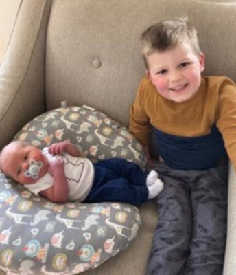 Big brother, Teddy, and Benjamin