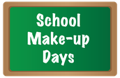 School Make-Up Days: