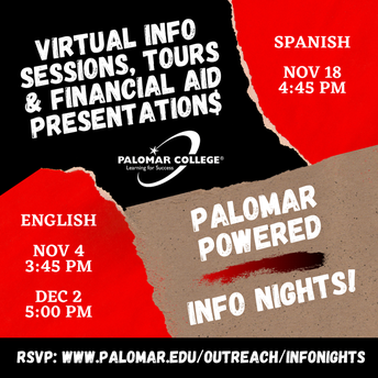 PALOMAR POWERED INFO NIGHT