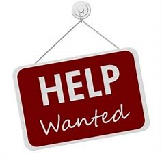 Red Help Wanted Sign