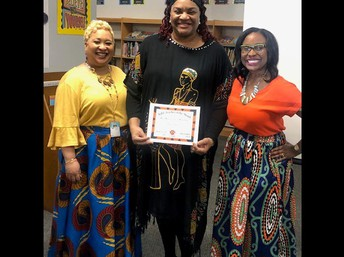 Teacher of the Month Mrs. King