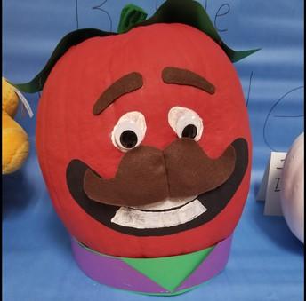 Mrs. Miller's class pumpkin