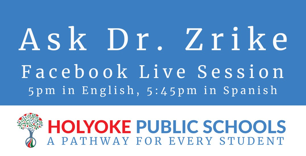 Decorative image for Dr. Zrike's Facebook Live Session