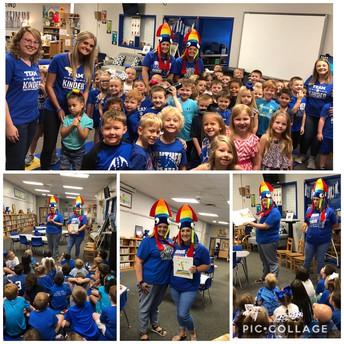 Color Week in Kindergarten!