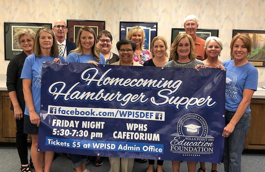Education Foundation brings back homecoming hamburger supper