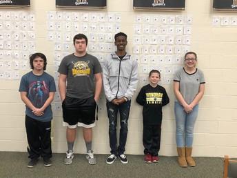 Outstanding JR/SR High School Students