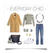 Combine Classic Stripes with a Great Pop of Colour