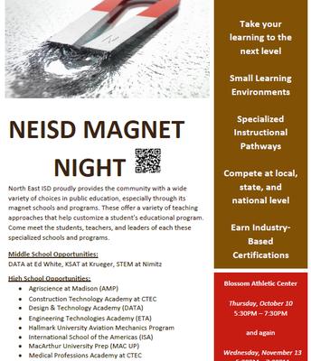 NEISD Magnet Night