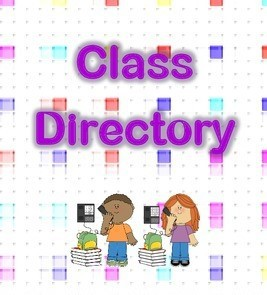 SCHOOL/CLASS DIRECTORY (You must enter your child for her/him to be included!)