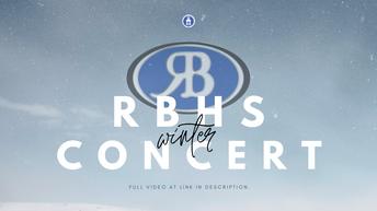 RBHS Winter Concert 2020