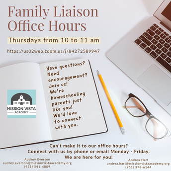 FAMILY LIAISON OFFICE HOURS