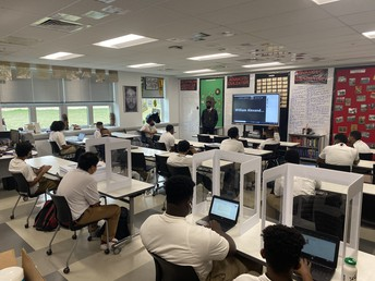 Check out some of our High School Scholars in action while learning.