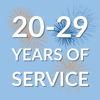 20 & 25 Years of Service
