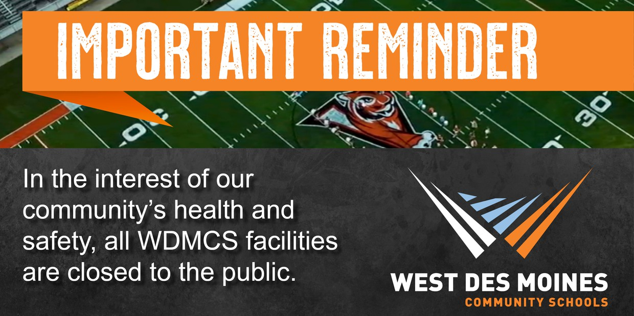WDMCS Facilities Closed