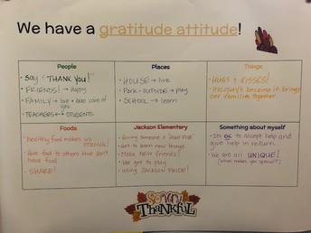 Gratitude Attitude!