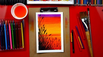 Free painting lessons with Art for Kids Hub
