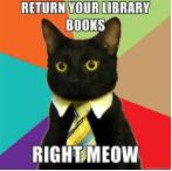 All student library books are due on Friday, May 7.