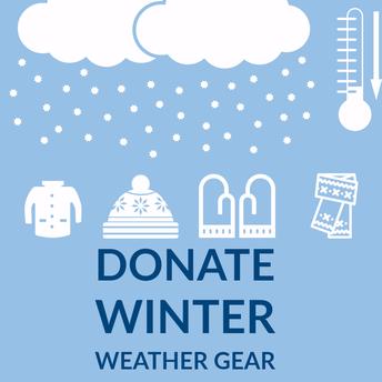 Coats, Hats, Mittens Donations