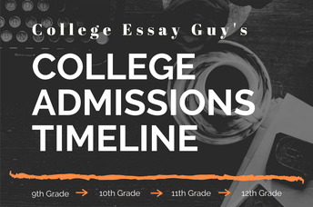 Download the College Admissions Timeline!