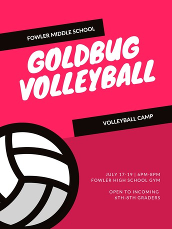 Middle School Volleyball Camp