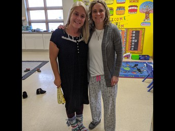 Mrs. Schuetz and Mrs. Trayner made 3K and 4K cozy this week!