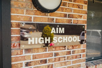 Sign up to tour AIM High School in Person