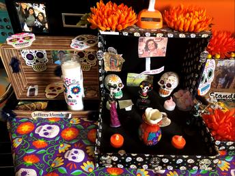 Dia de los Muertos Displays