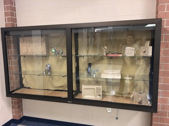 Cardboard creations on display from 3-D art classes