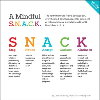 Take A Mindful S.N.A.C.K. Moment
