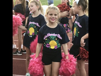 'Little Warriors' Shine At Cheer Clinic