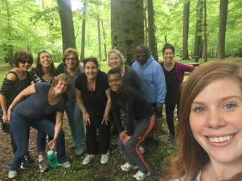Teachers and Staff De-Stress During Mindful May