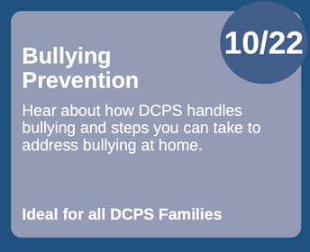 Bully Prevention Training for Parents