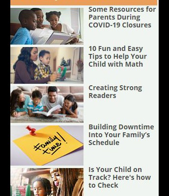 PARENT TIPS AND ADVICE ON SPRING WEBSITE