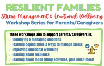Resilient Families: A Workshop Series