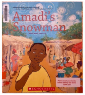 """Book Blurb- """"Amadi's Snowman"""""""