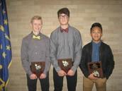 Fall Awards - Boys Tennis