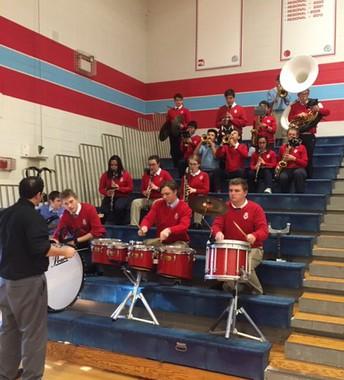 Marian Pep Band!