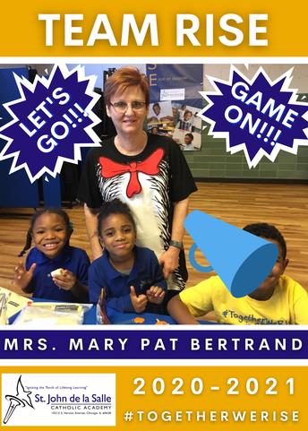 Staff Bio: Mrs. Mary Pat Bertrand