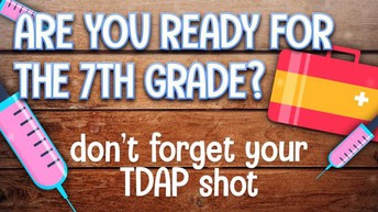 Attention 7th grade parents!!!!