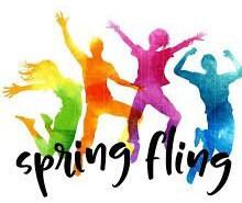 Spring Fling on Sunday, May 17th at 4:00pm